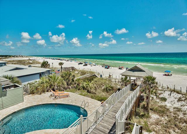 Private Beachfront Pool