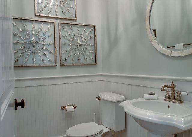 First Floor: Powder Room