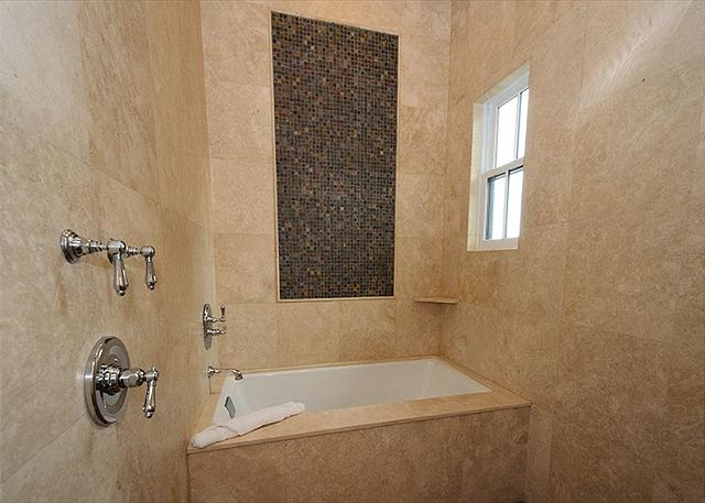 Master Bathroom with Tub in Shower Room