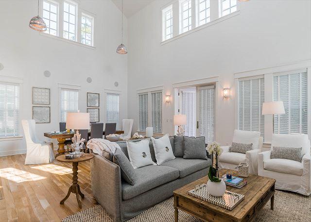 First Floor: Living Room