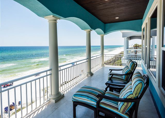 Third Floor: Porch Overlooking the Gulf