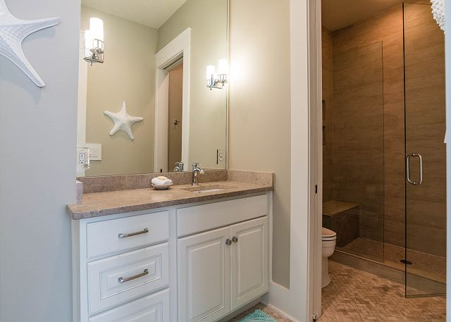 Second Floor: Bunk Room Bathroom