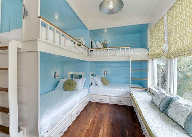 Second Floor, Bunk Room