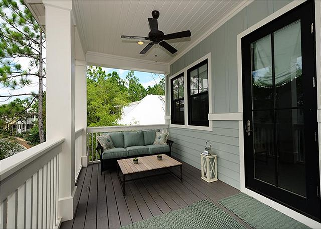 Second Floor: Porch Seating Off Master