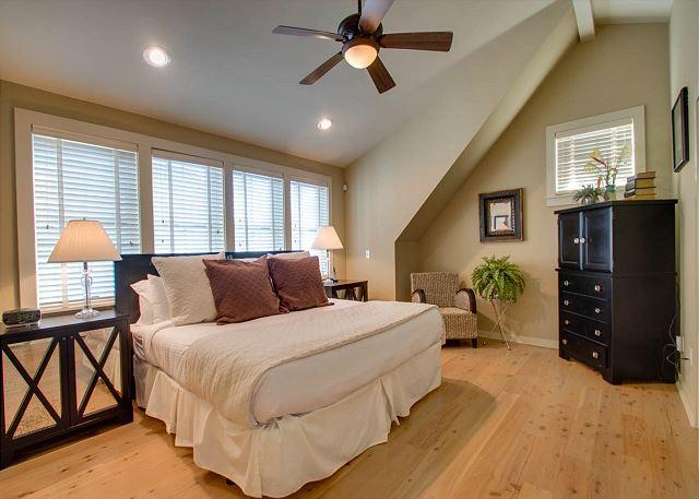 Second Floor: Master Bedroom