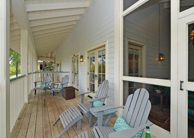 Porch with Sitting Area