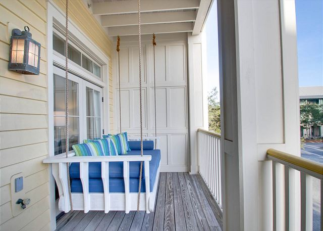 Second Floor: Porch with Swing
