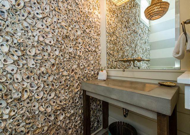 First Floor: Hall Half Bath