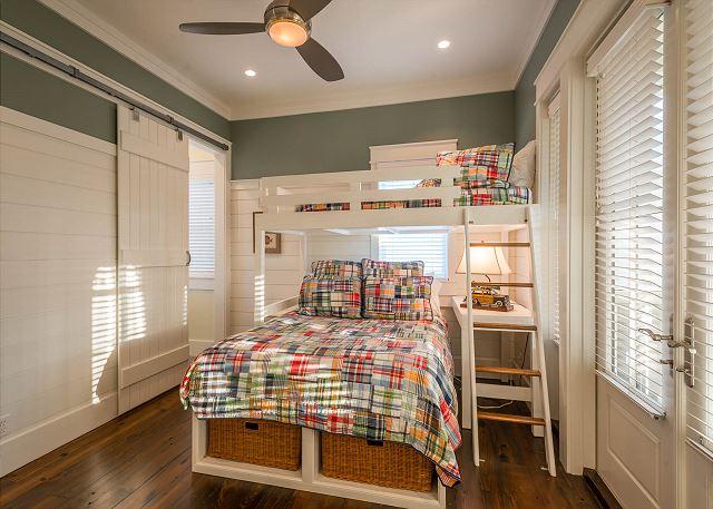 Second Floor: Guest Master Bunkroom