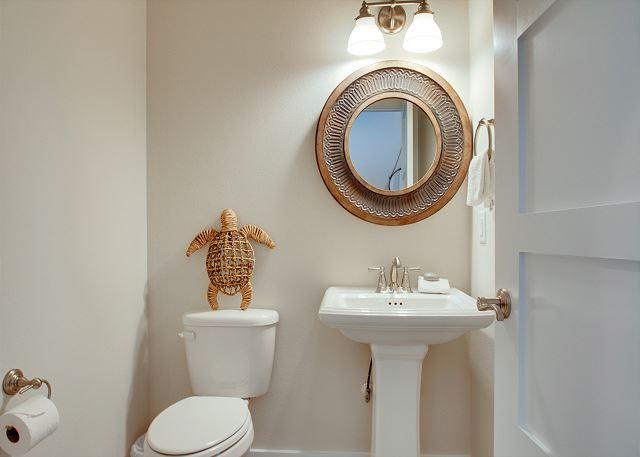 First Floor: Powder Bathroom