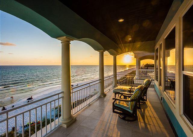 Third Floor: Porch Overlooking the Gulf