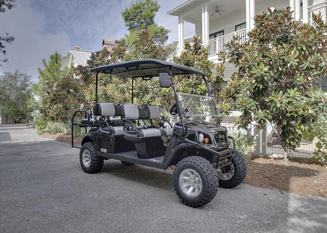 Golf Cart Provided!
