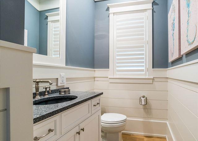 First Floor: Half Bathroom