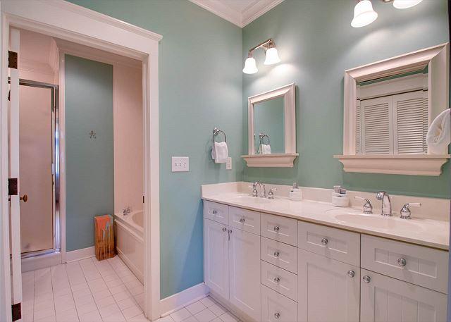 Third Floor: Master Bathroom