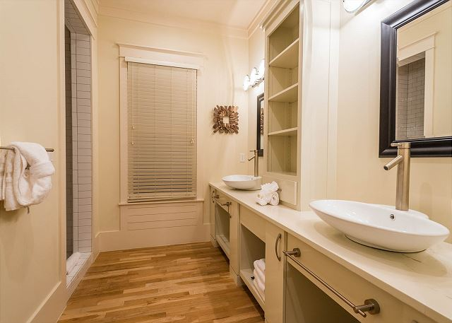 Second Floor: Queen Bedroom, Private Bathroom