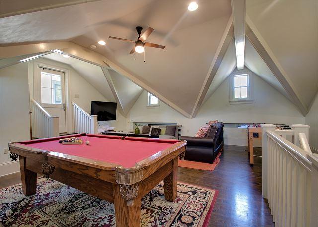 Second Floor: Game Room