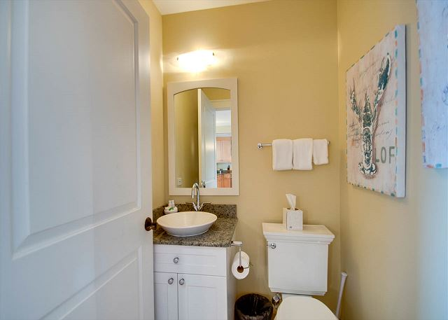 Second Floor: Powder Room