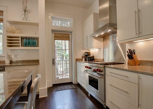 First Floor: Kitchen with Wolf Appliances
