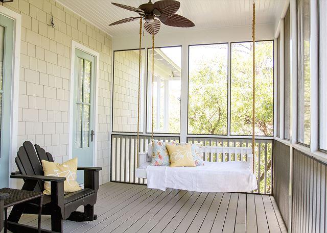 Second Floor Porch Swing