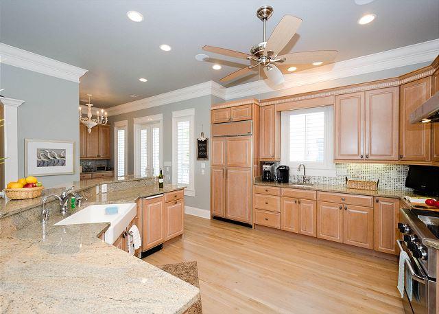Kitchen, Second Floor