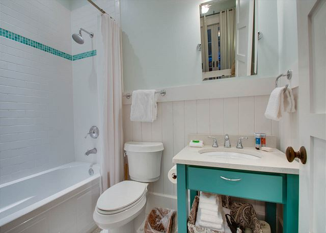 First Floor: Guest Bathroom