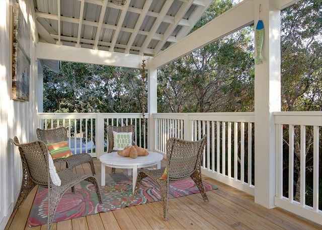 Second Floor: Outdoor Living Area