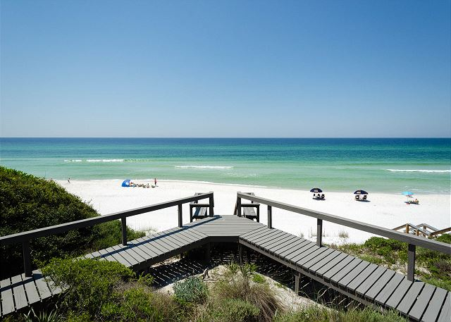 Private Deck and Gulf Views