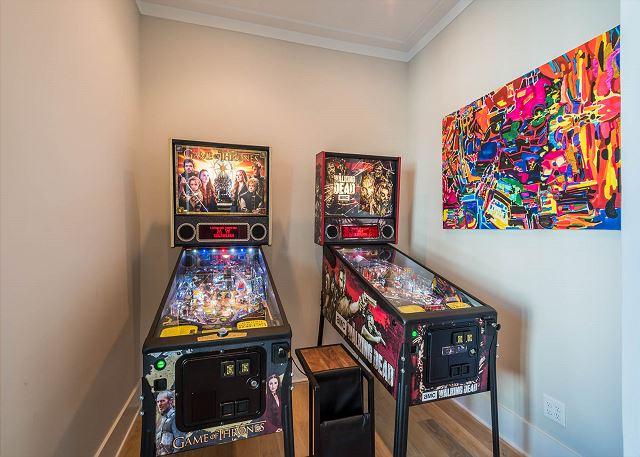 First Floor: Arcade Room