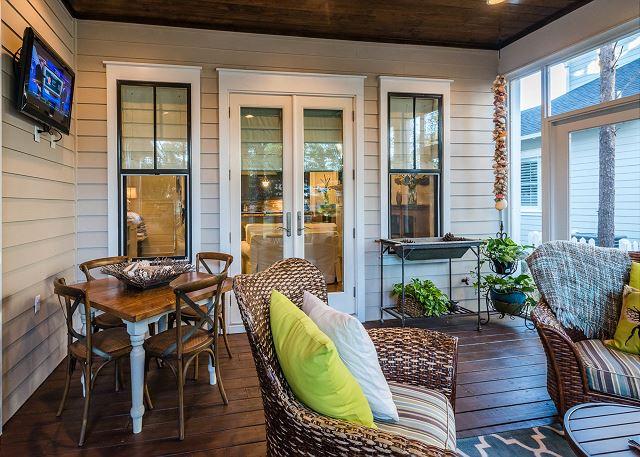 First Floor: Porch
