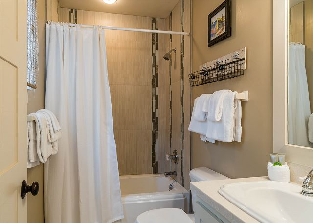 First Floor: Guest Bathroom