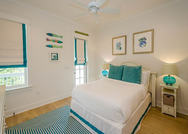 Second Floor: Guest Master Bedroom