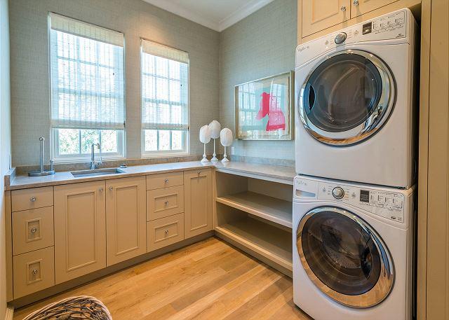 Second Floor: Laundry Room