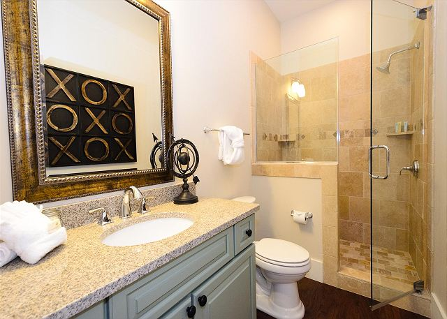 Guest Bathroom, Second Floor