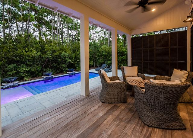 Private Pool and Outdoor Living Area