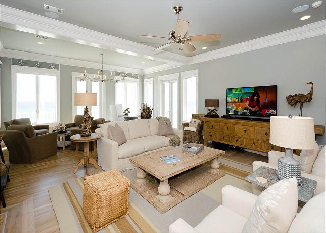 Living Area, Second Floor