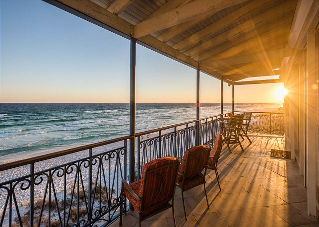 Porch with Gulf View