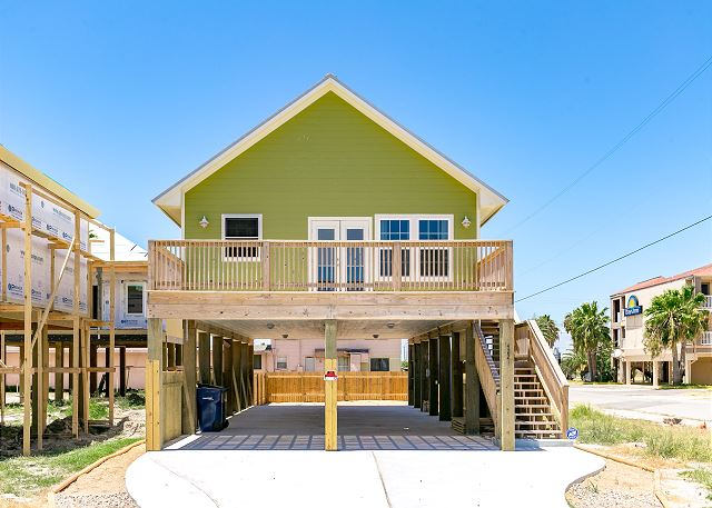 North Padre Island Beach House Rentals