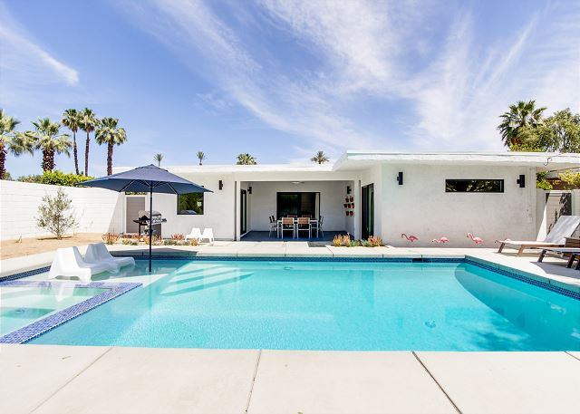 Palm Desert CA Vacation Rental The saltwater pool