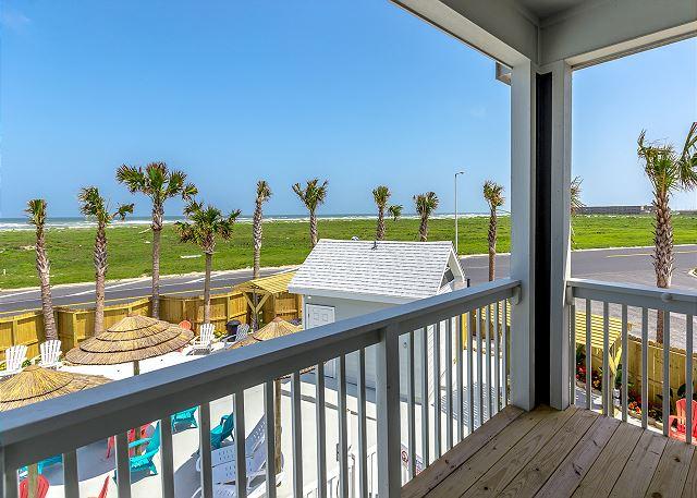 Corpus Christi TX Vacation Rental The balcony has