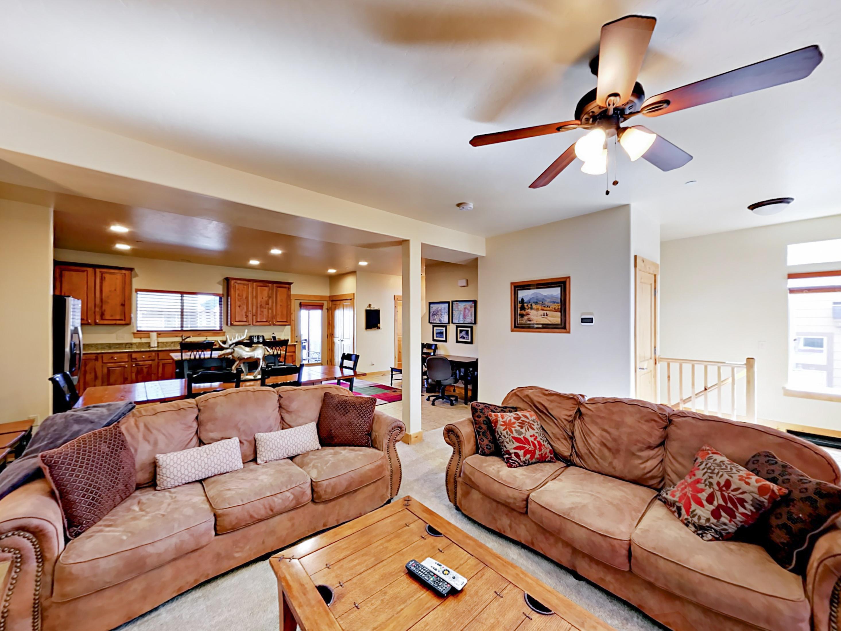 Park City UT Vacation Rental The living room