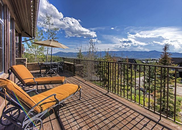 Park City UT Vacation Rental The unbroken mountain
