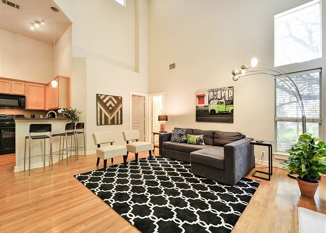 Austin TX Vacation Rental The open living