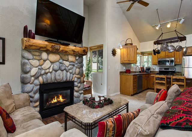Park City UT Vacation Rental Living space is