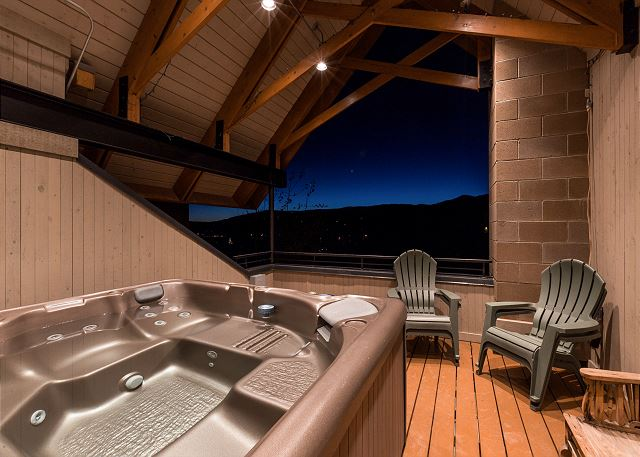 Steamboart Springs CO Vacation Rental A rooftop balcony
