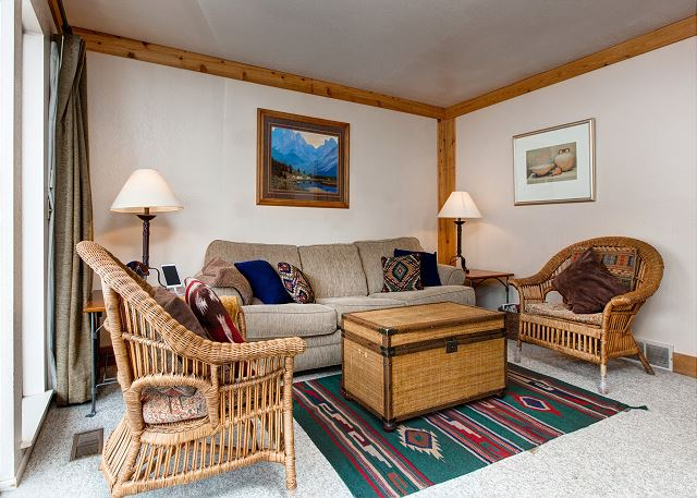 Park City UT Vacation Rental A warm living