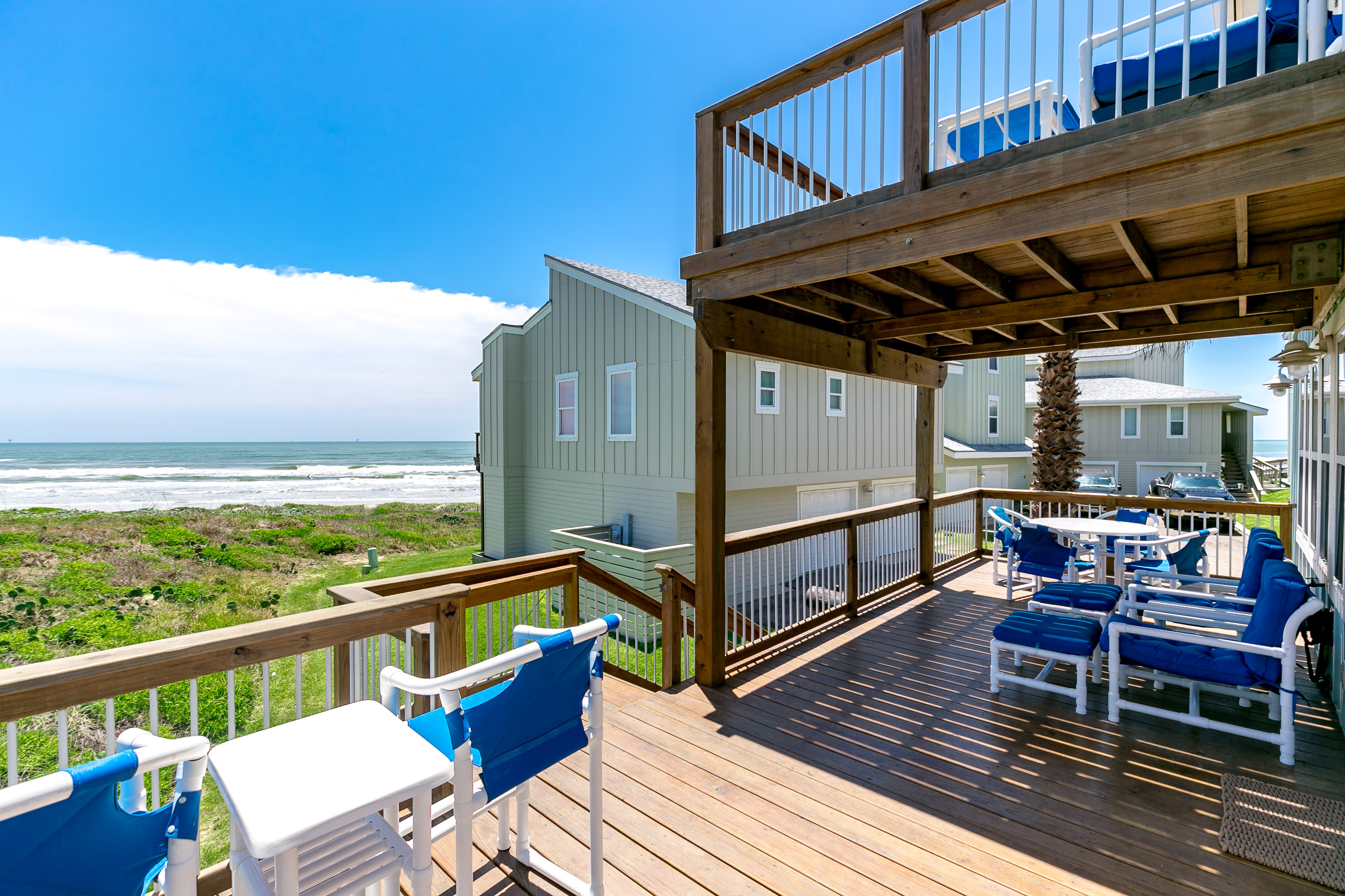 Port Aransas TX Vacation Rental Plush furniture for