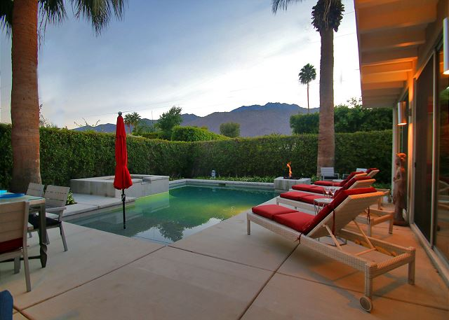 Palm Springs CA Vacation Rental Private pool and