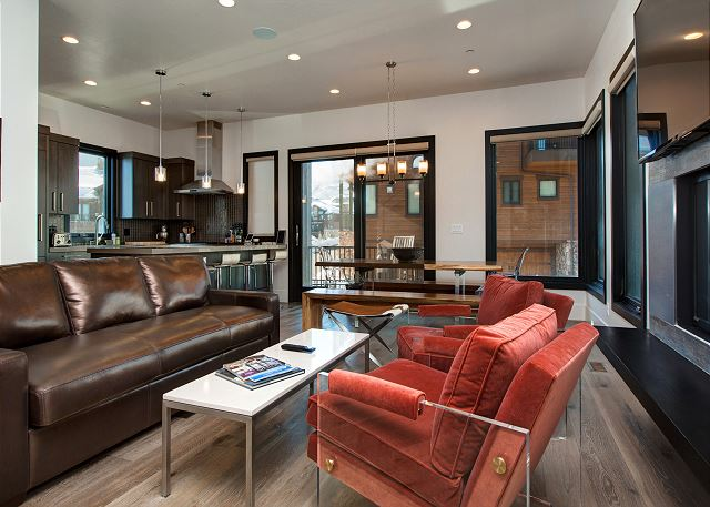 Park City UT Vacation Rental Relax on a