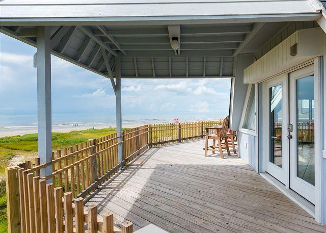 Galveston TX Vacation Rental Panoramic vistas of