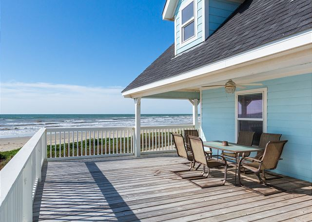 Galveston TX Vacation Rental Enjoy drinks or